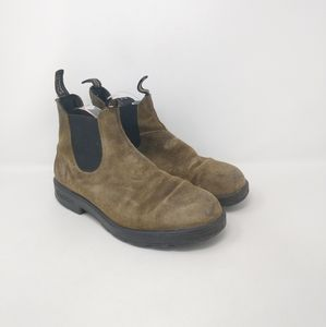 Blundstone Suede Chelsea Ankle Boots Mens Size 9